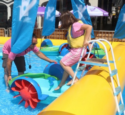 bassin bateaux enfants
