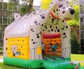 chateau gonflable dalmatien