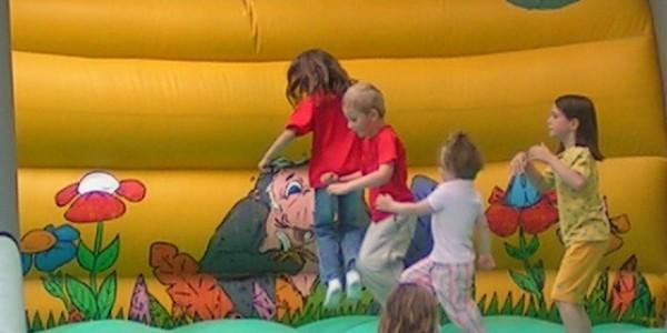 jeu gonflable elephant