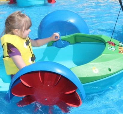 petits bateaux a roues