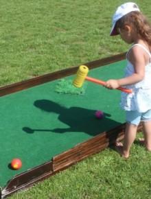 jeu golf pour enfants