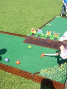 jeu mini golf