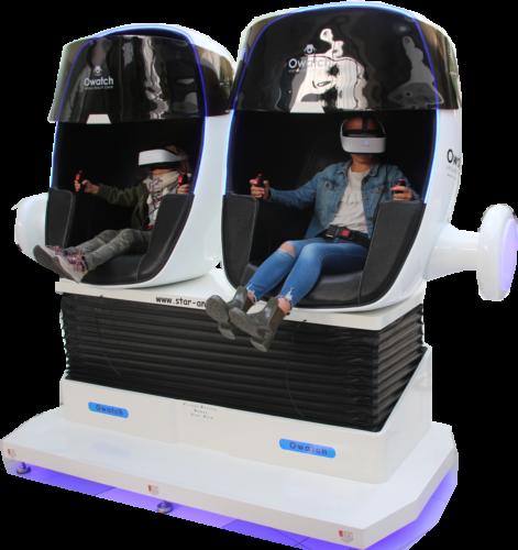 réalité virtuelle star-anim